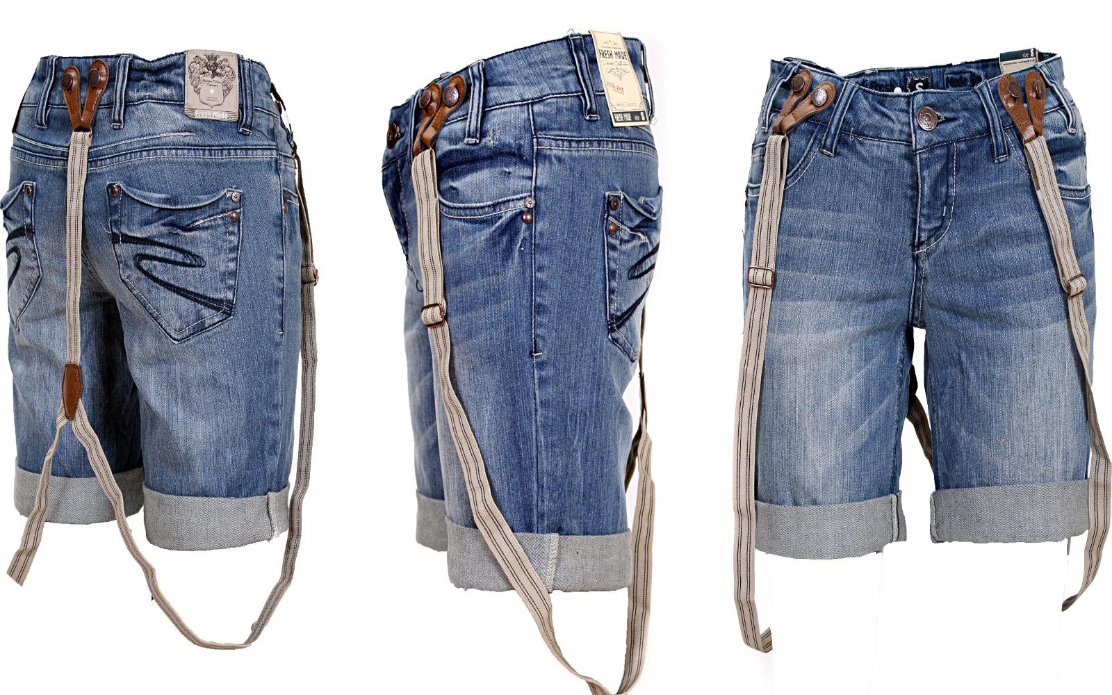 neu sexy damen shorts jeans short bermuda tr ger middle blue denim xs s m l xl ebay. Black Bedroom Furniture Sets. Home Design Ideas