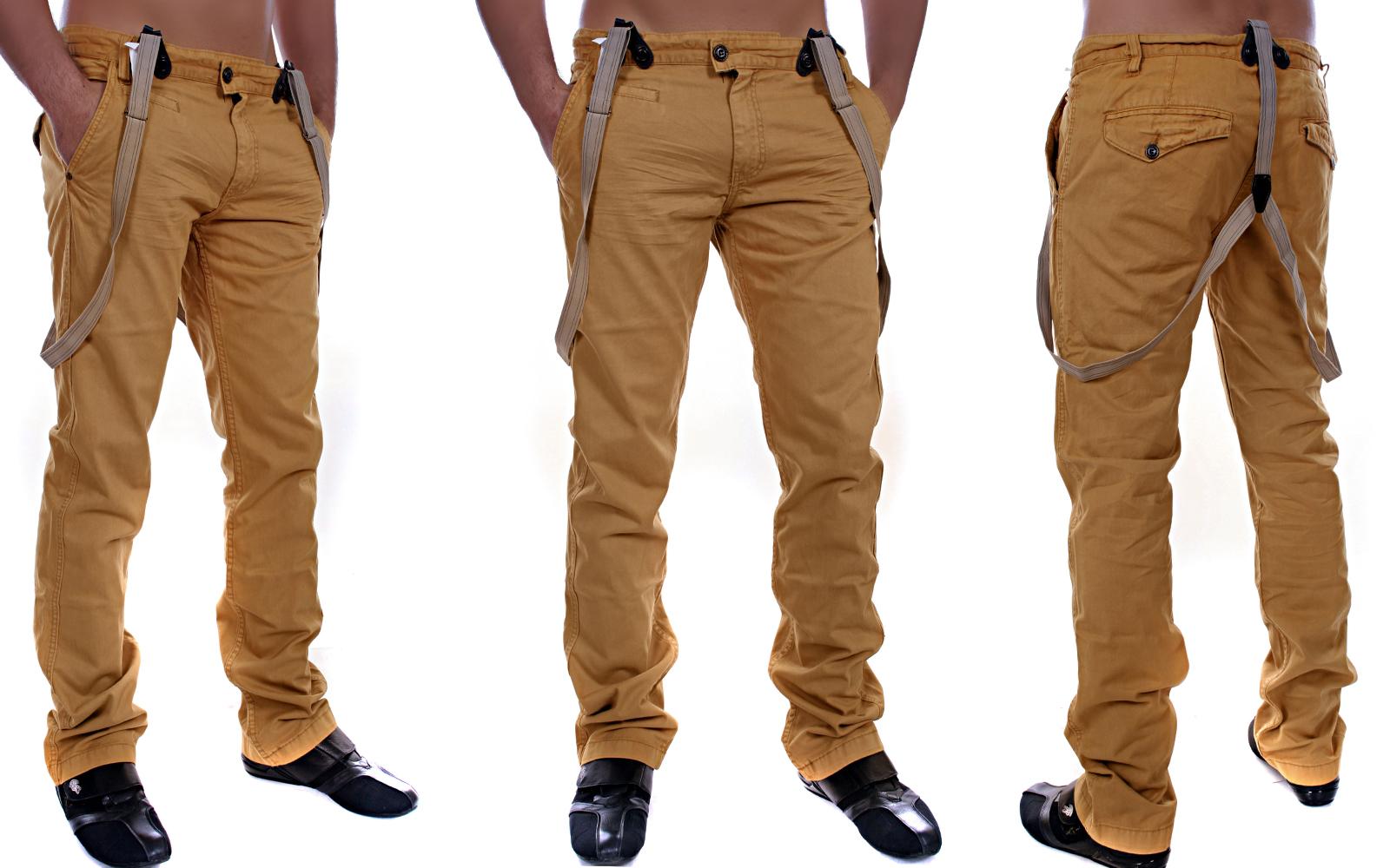 31 W29 33 34 Herren 32 Hose 30 Chino Hosenträger Trousers Jeans E9HDI2