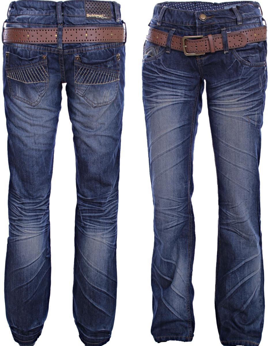 sublevel damen jeans boysfit jeans hose l ssige jeans xs s. Black Bedroom Furniture Sets. Home Design Ideas