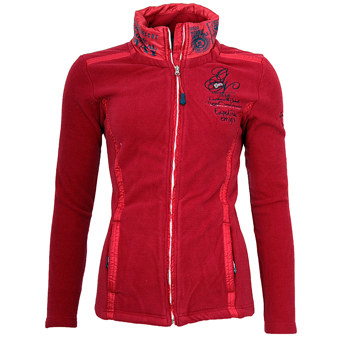 geographical norway damen polar fleece jacke sweatjacke. Black Bedroom Furniture Sets. Home Design Ideas