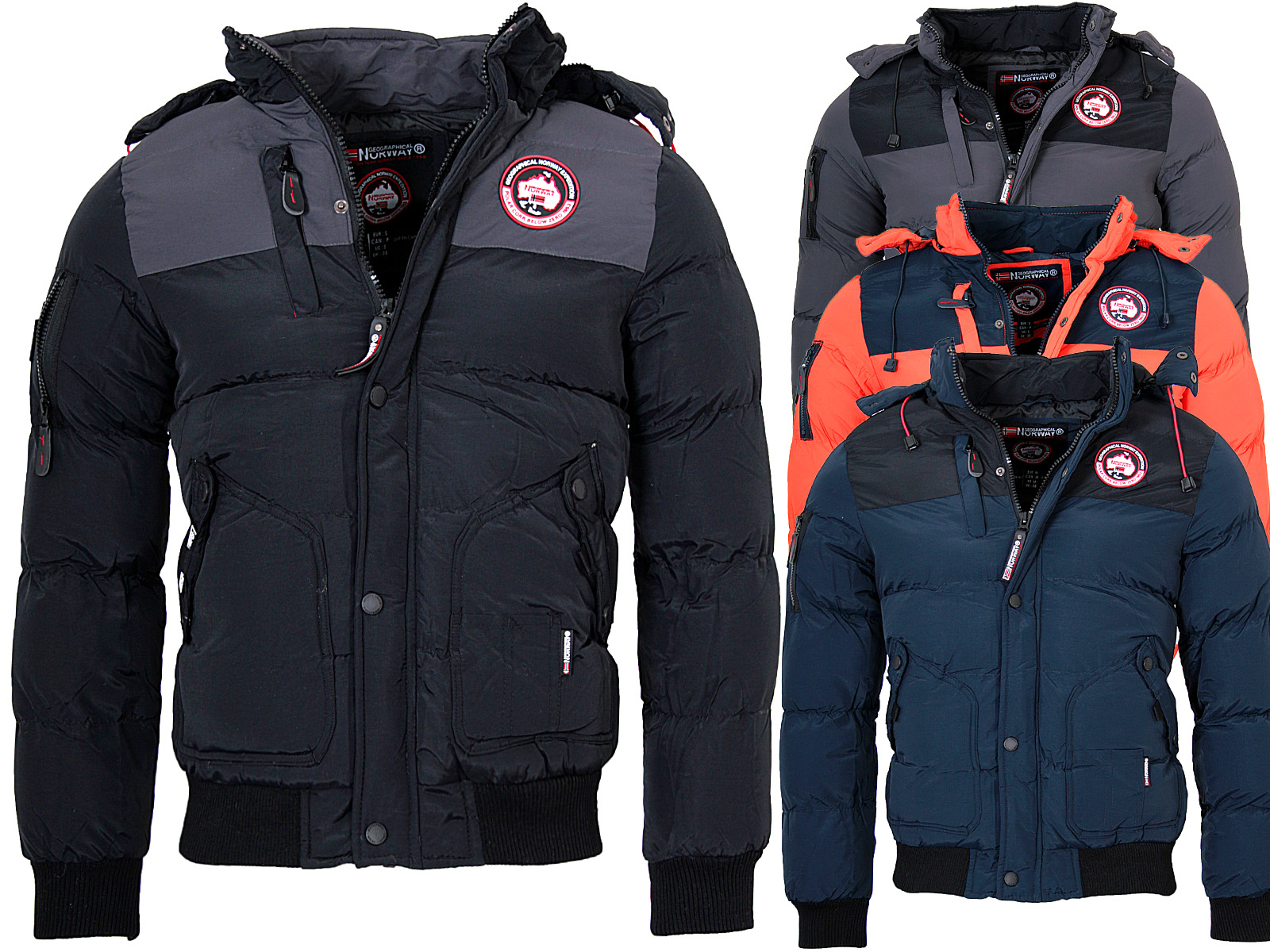 geographical norway herren winterjacke vertigo winter. Black Bedroom Furniture Sets. Home Design Ideas