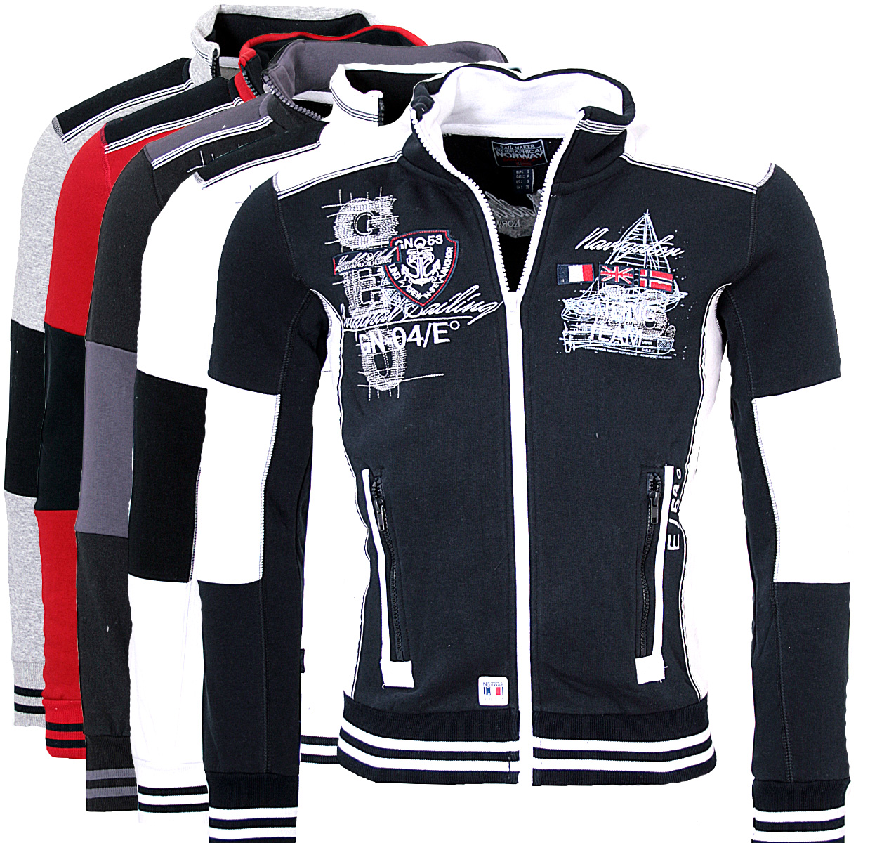 geographical norway men 39 s jacket sweatshirt hoodie galbord sweater ebay. Black Bedroom Furniture Sets. Home Design Ideas