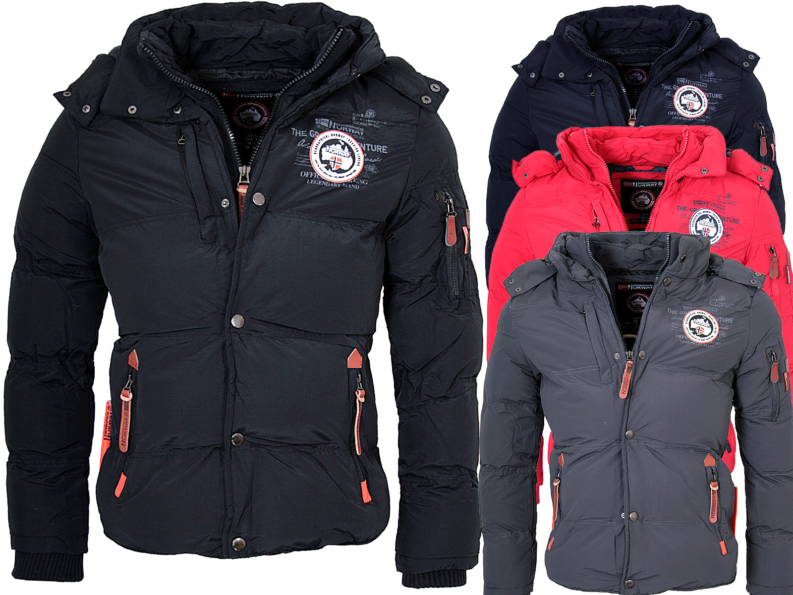 geographical norway men 39 s winter jacket winter parka warm. Black Bedroom Furniture Sets. Home Design Ideas