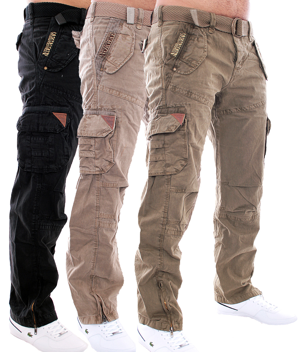 geographical norway herren hose freizeit trousers cargo hose army hose. Black Bedroom Furniture Sets. Home Design Ideas