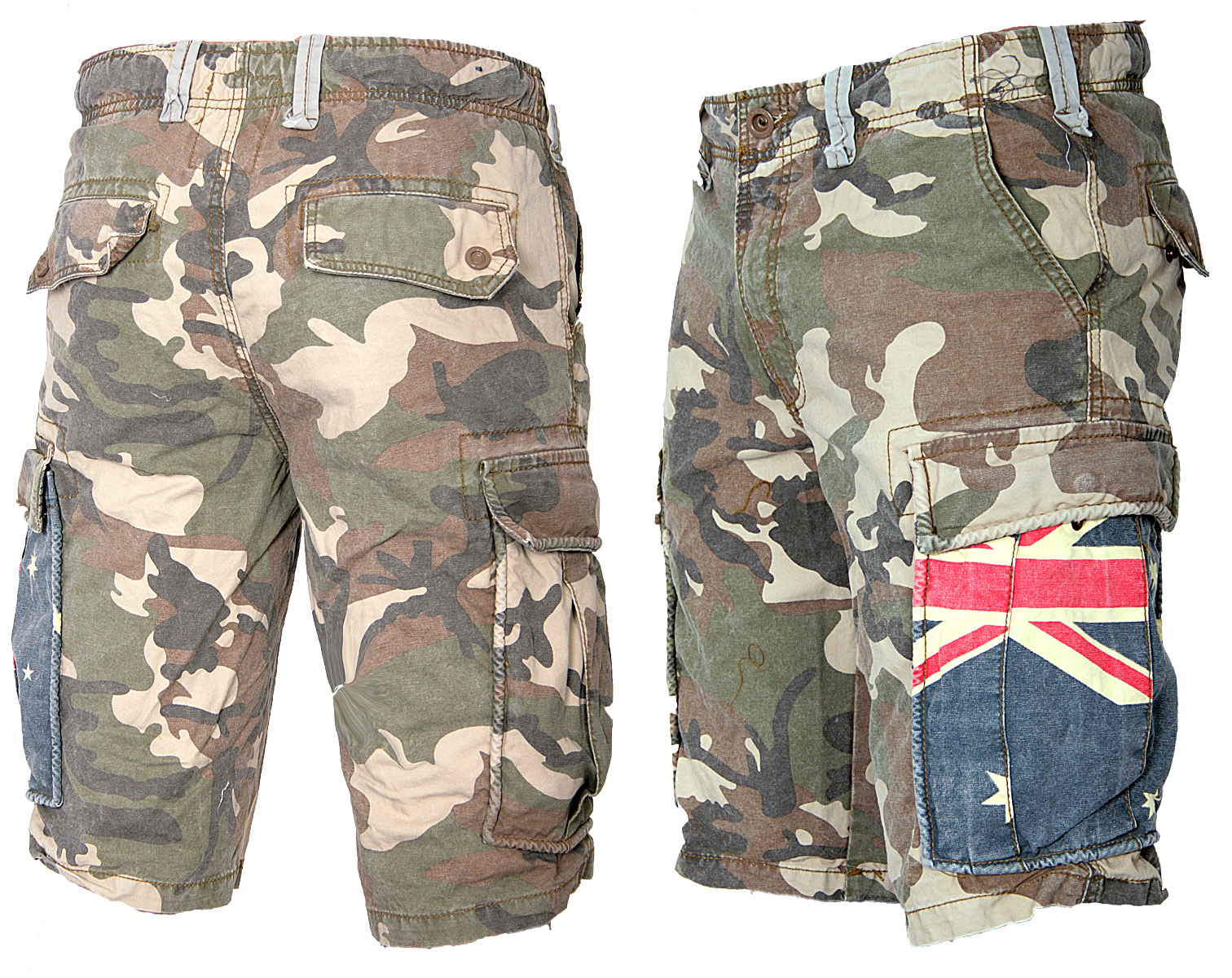best quality pretty nice premium selection Details about Jet lag Men's Cargo Shorts Bermuda Shorts Army Camouflage USA  Australia