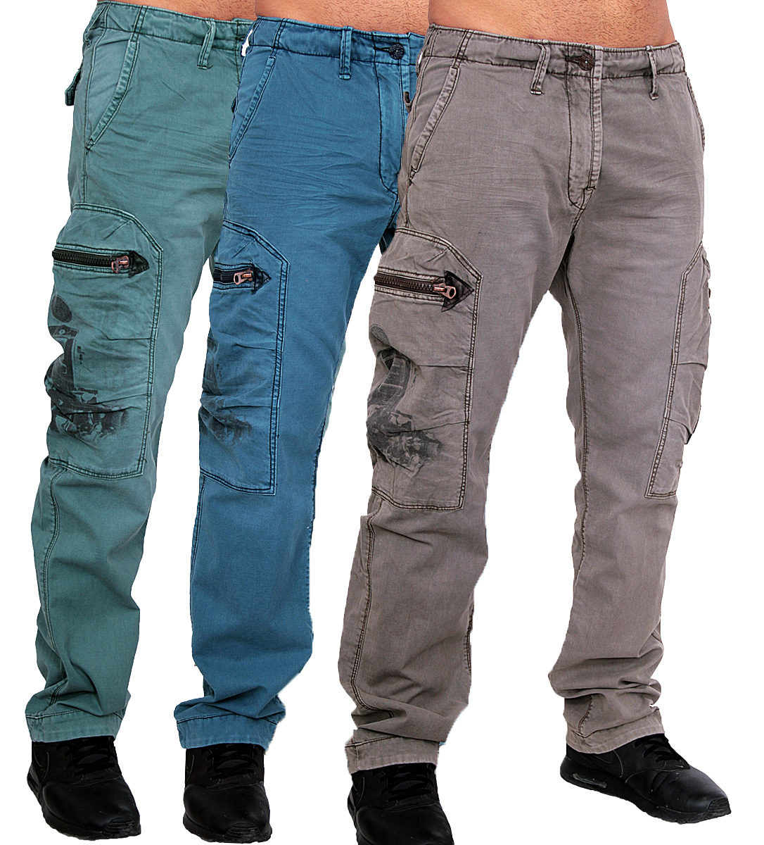 jet lag herren cargo hose freizeit trousers army hose cargohose arbeits hose ebay. Black Bedroom Furniture Sets. Home Design Ideas