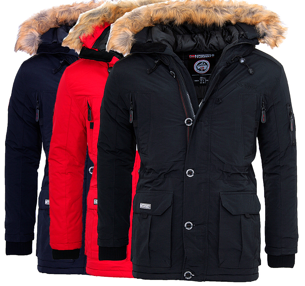 geographical norway warm men 39 s winter jacket outdoor parka. Black Bedroom Furniture Sets. Home Design Ideas