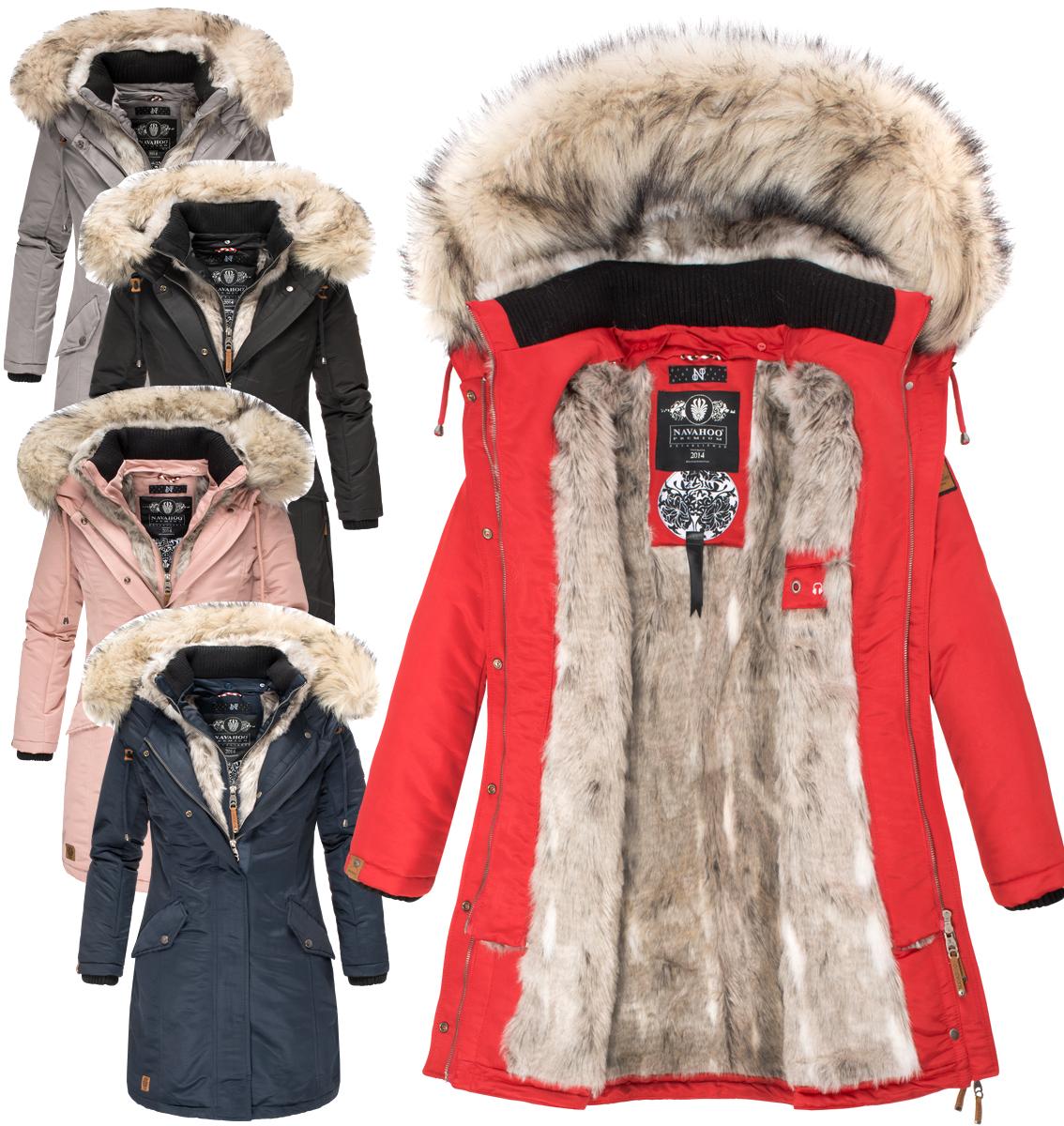 221c30c25a3c6c Navahoo Premium sehr warm Damen Winter jacke winter Parka ...