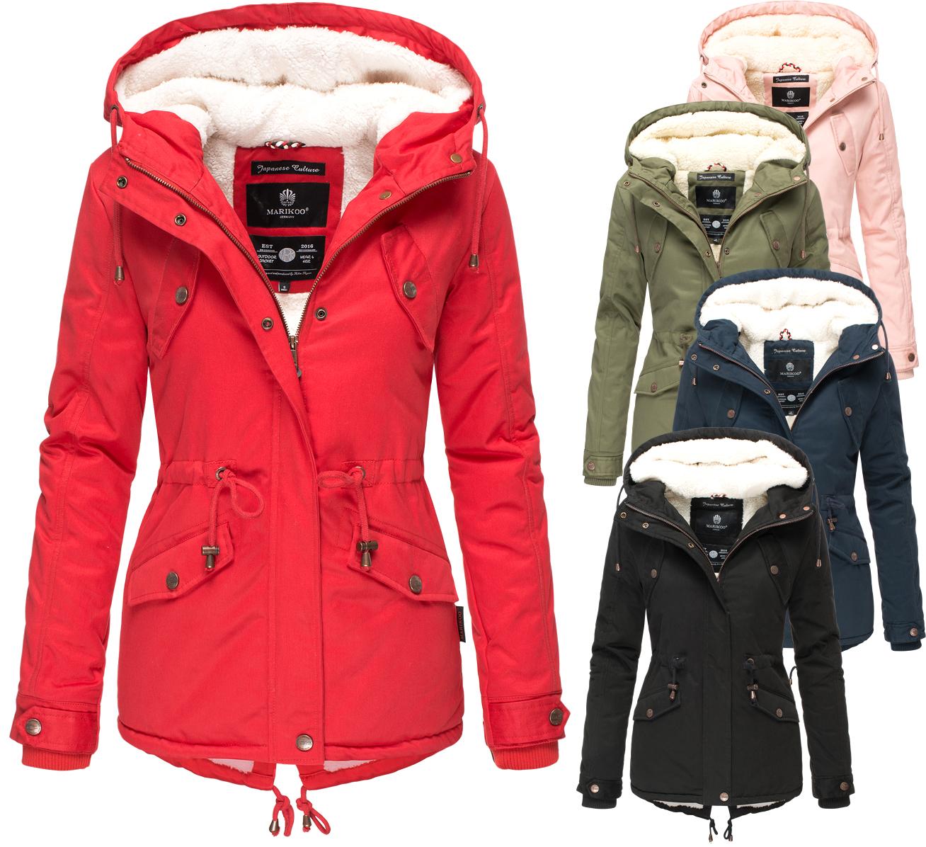Chaqueta Marikoo Invierno Manolya Parka Para Abrigo Mujer Winter De CSO5wxqnS