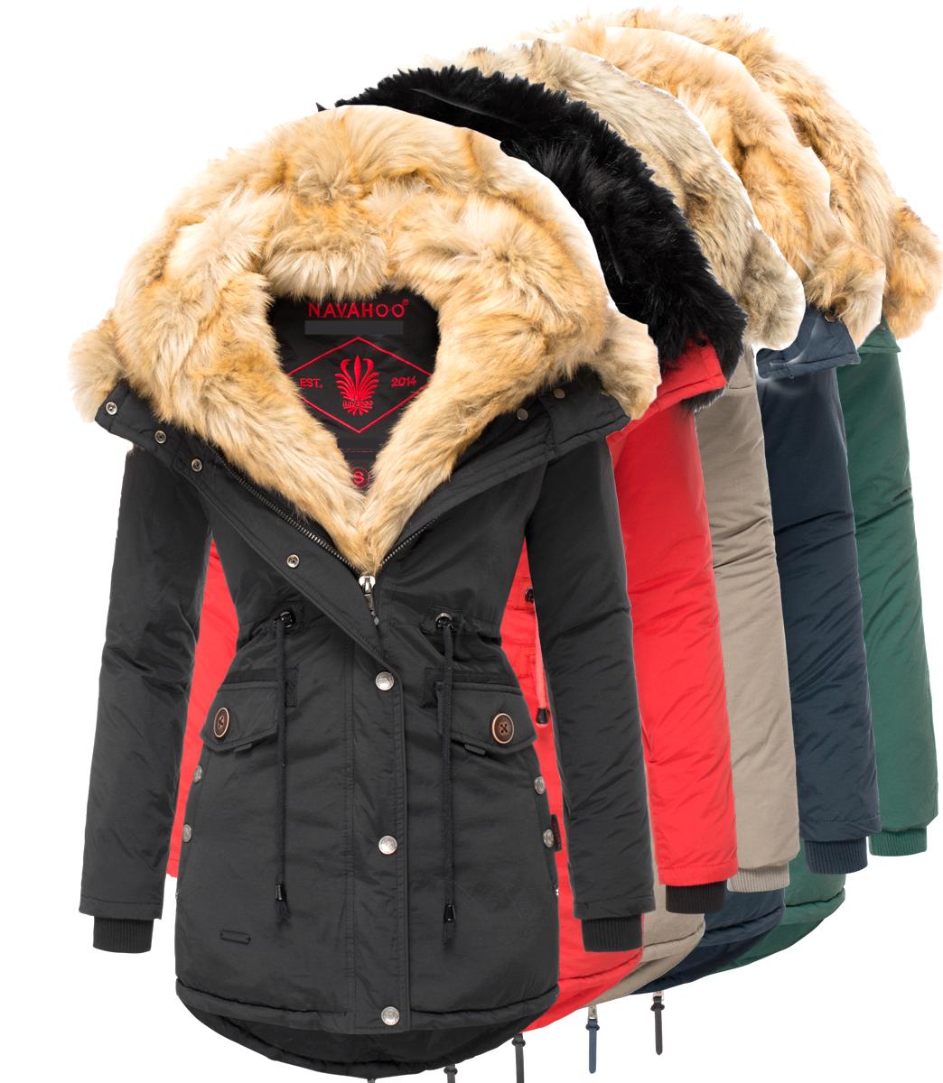 Rose Navahoo Sweety Ladies' Winter Coat Winter Parka 2in1 9