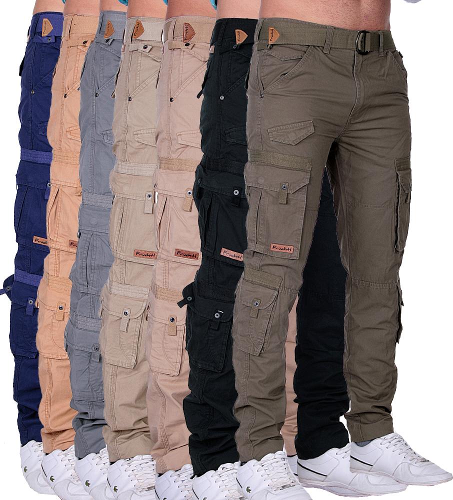 fr chtl herren hose freizeit trousers cargohose cargo hose army hose arbeitshose ebay. Black Bedroom Furniture Sets. Home Design Ideas