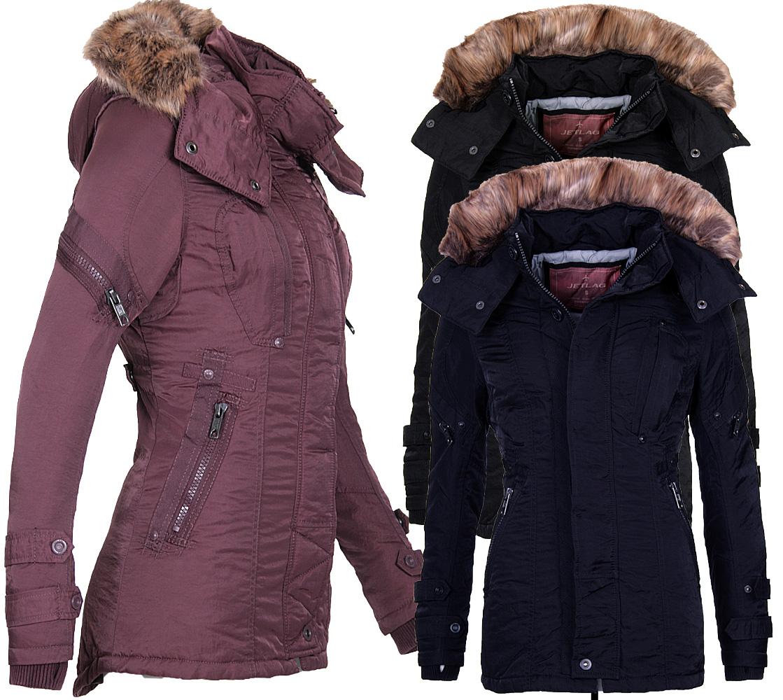 Detalles de Jet Lag señora invierno chaqueta abrigo Parka sw61b outdoor invierno chaqueta abrigo invernal ver título original