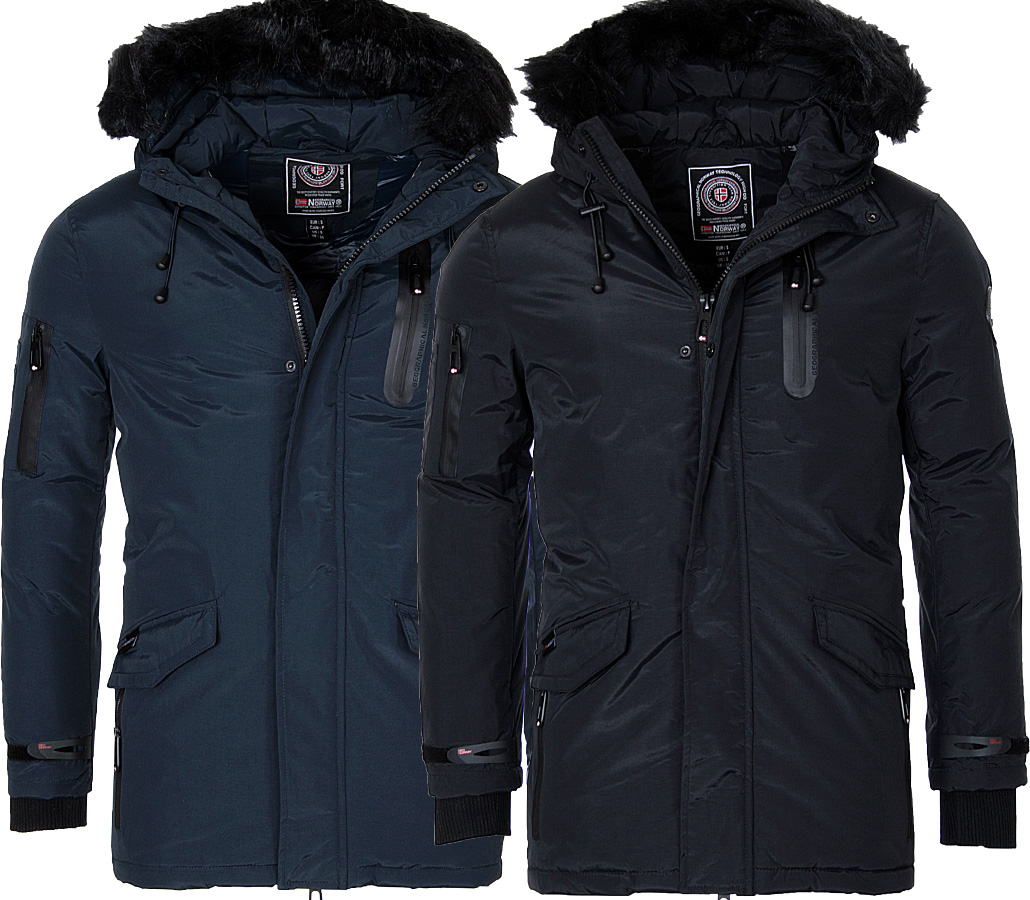 geographical norway men 39 s warm winter jacket parka coat jacket winter jacket ebay. Black Bedroom Furniture Sets. Home Design Ideas