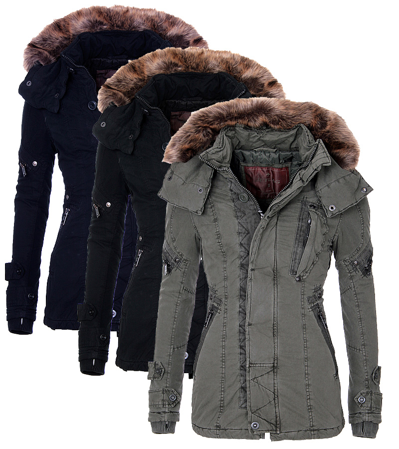 Winterjacken damen gunstig ebay