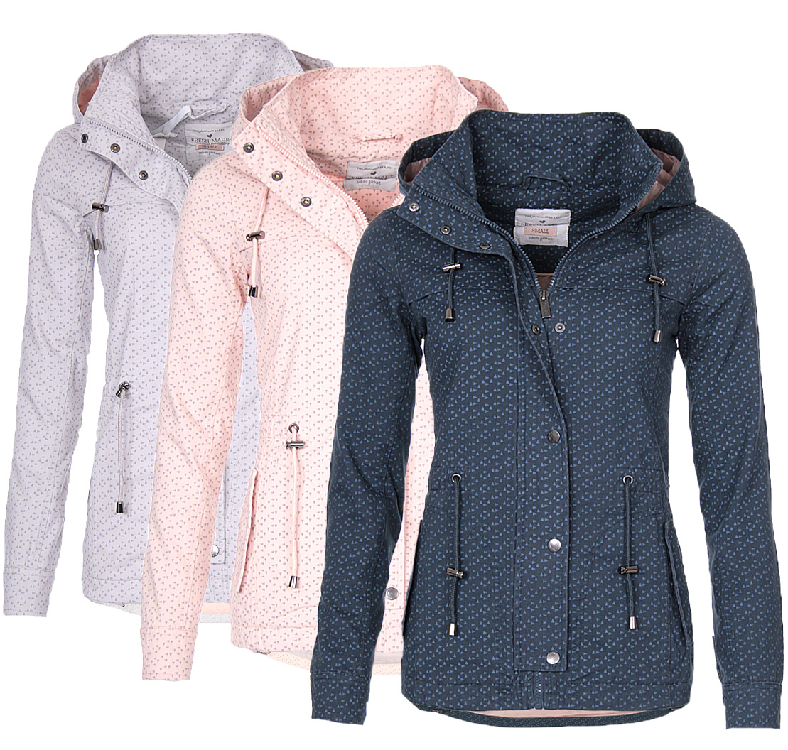 Ladies Coat Title Parka Cotton Transition Details Jacket Autumn Original Short New About Show Sublevel gbfyY7v6